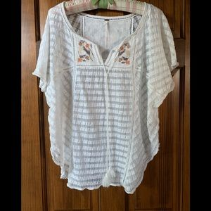 Free People short sleeve blouse